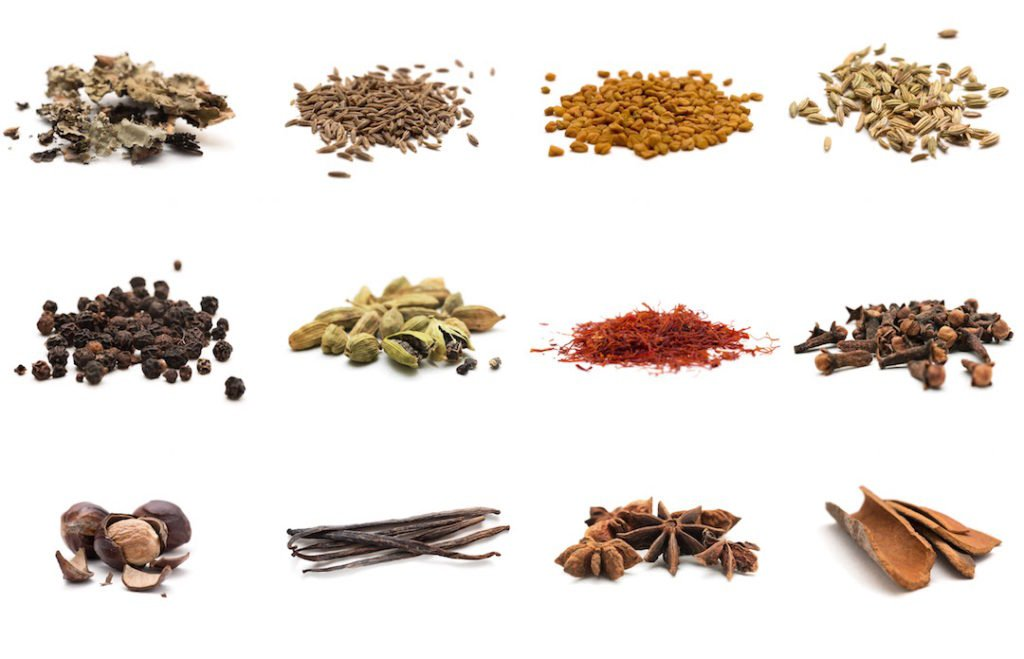 spices and botanicals