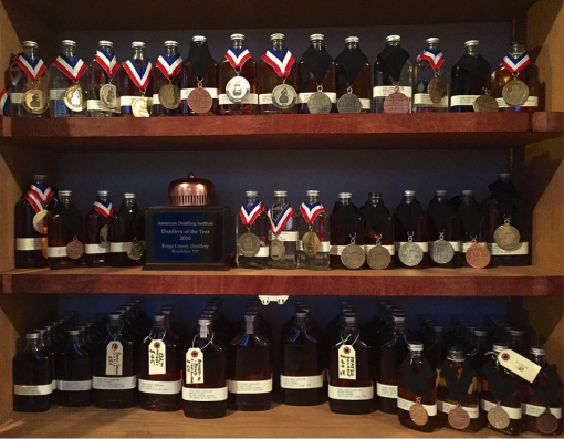 Kings County Award Winning Whiskies!