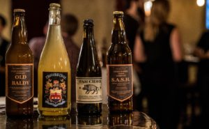 The local ciders from our Wingtip Event