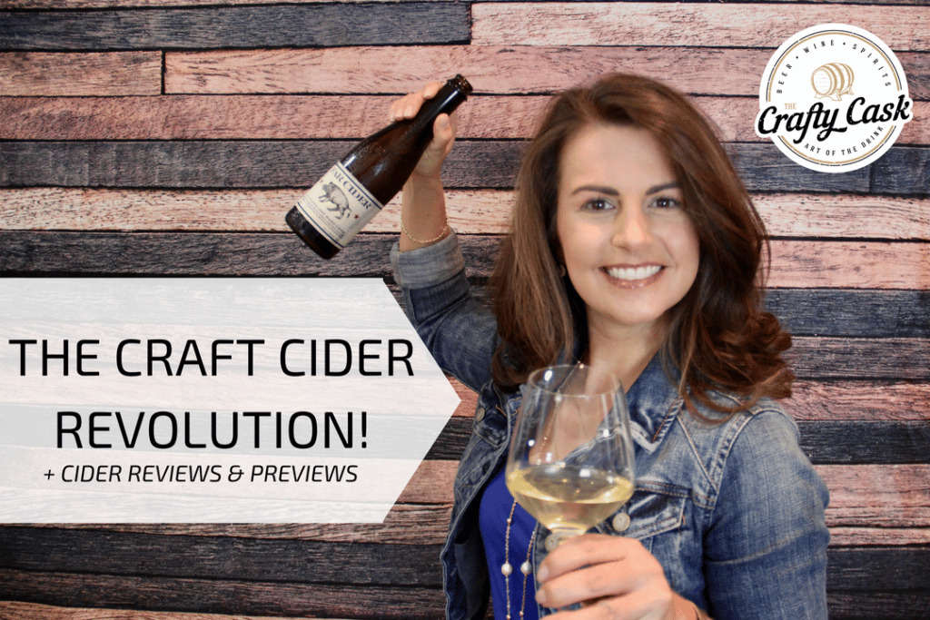 Video thumbnail with Suzanne charging, revolutionary style, with a bottle and glass of cider