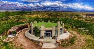 Arial view of SuperUco Winery & Vineyards