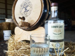 Down East Wheat Vodka On Bale