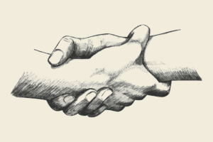 Hands Shaking – Collaboration