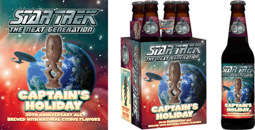"Shmaltz Brewing's Star Trek ""Captain Holiday"" Ale"
