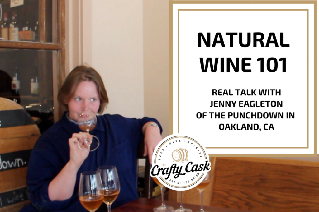 Video cover of Jenny sniffing a natural wine at The Punchdown