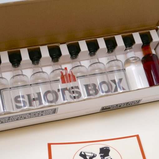 Buy Now: Monthly Shots Box Subscription of 10 Craft Alcohols Delivered To Your Home Monthly