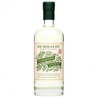 Buy Now: Humboldt Distillery's Vodka Infused with Hemp