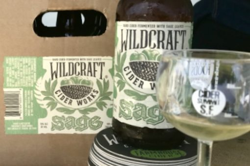 Wildcraft Sage Cider at Cider Summit SF