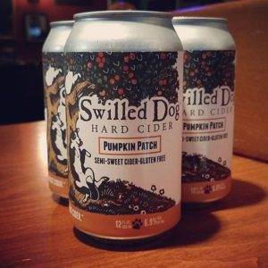 3 Cans of Swilled Dog Pumpkin Patch Beer