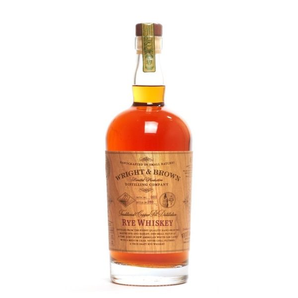 Buy Now: Wright and Brown Rye Whiskey