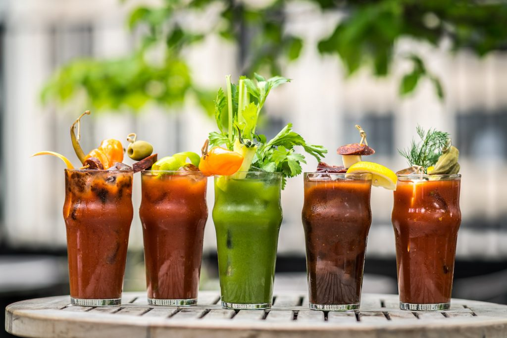 Best Bloody Mary Ingredients - 5 Bloody Marys at Gallow Green in NY