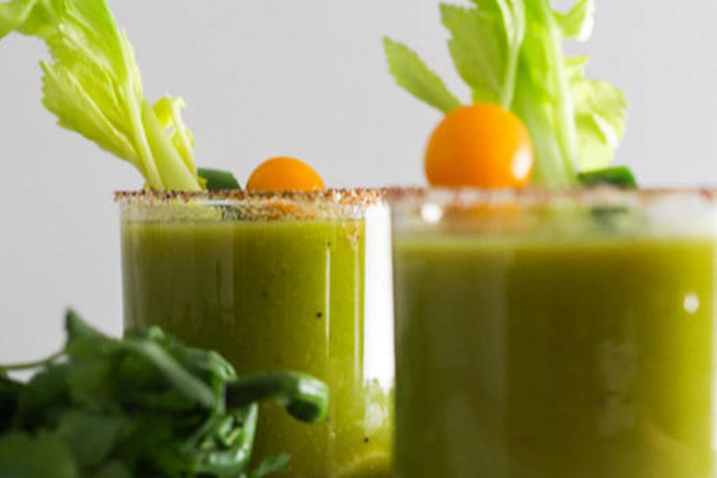 How to make a Bloody Mary - Green Mary