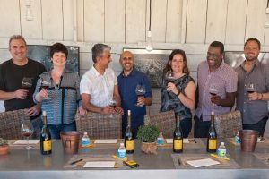 The Crafty Cask Guests at a Craft Wine Tasting Day