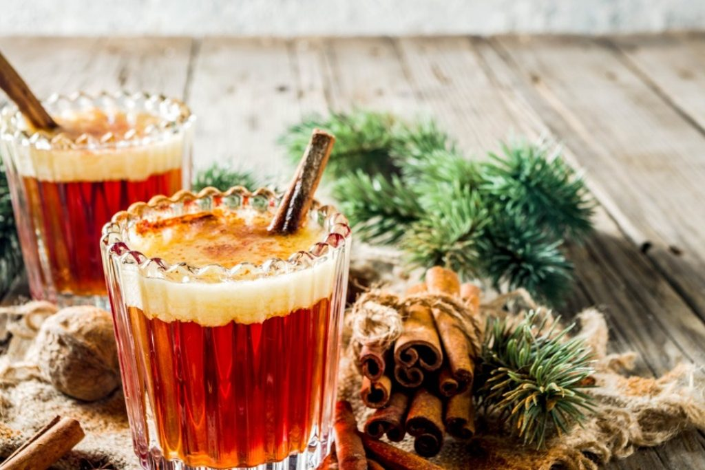 Best Hot Buttered Rum Recipe with ice cream