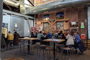 Denver Beer Tasting Room of Crooked Stave Brewery