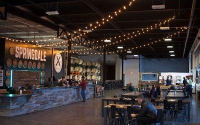 Springdale Brewery Barrel Room Is Mouthwatering Fun