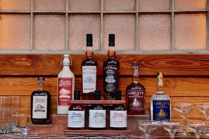 Boston Harbor Distillery guide - spirits of boston