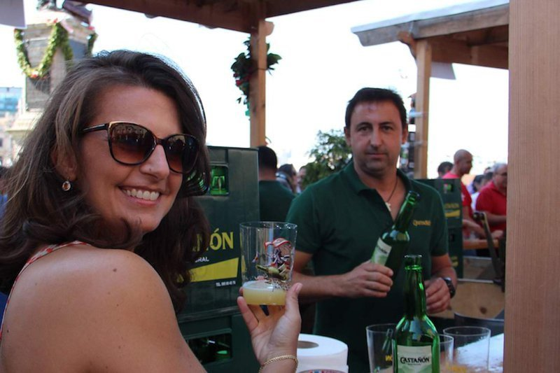the art of drinking cider in asturias