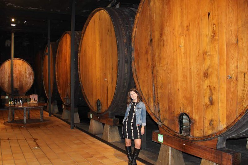 the art of cider pouring in asturias spain