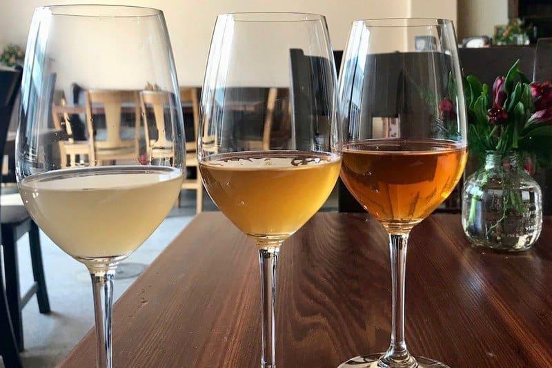 orange win guide - compare orange wine to rose