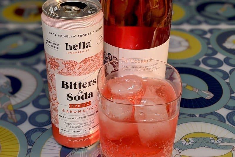 Cocktail Bitters Wine Spritzer