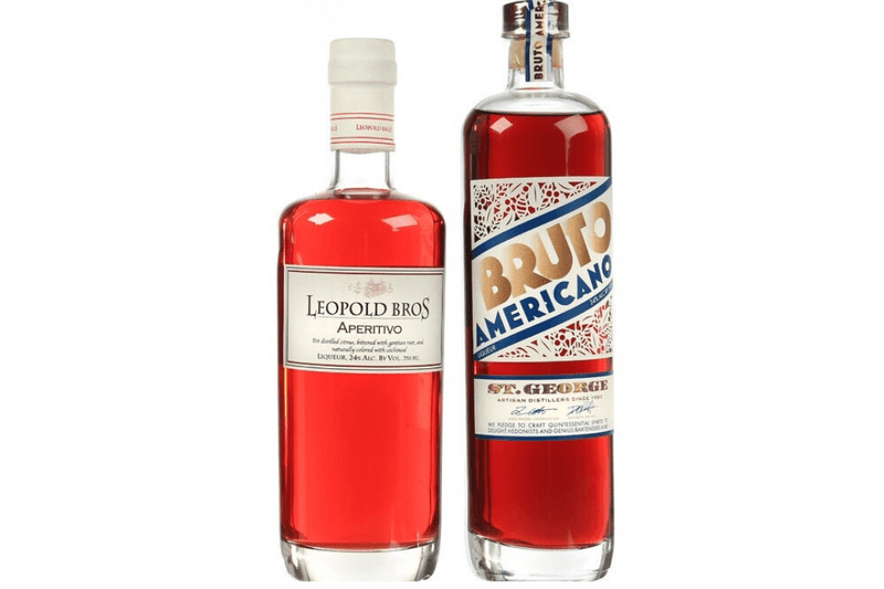 Digestive Bitters from Leopold Bros and St. George Spirits