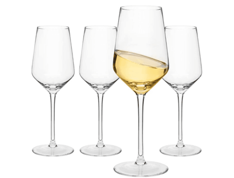 Wine Glass Shapes: Light Bodied Whites