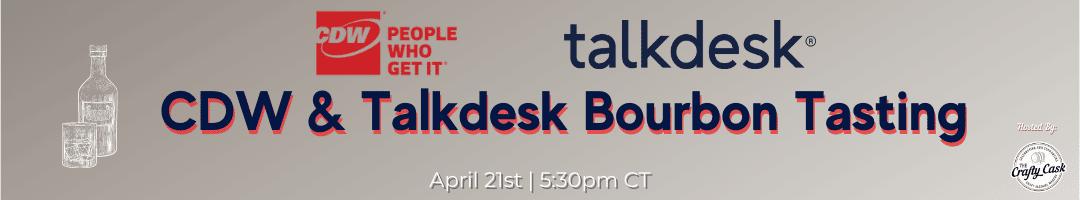 CDW & Talkdesk Virtual Bourbon Tasting