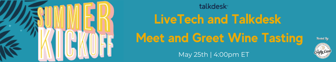 Summer Kickoff Wine Tasting with LiveTech and Talkdesk