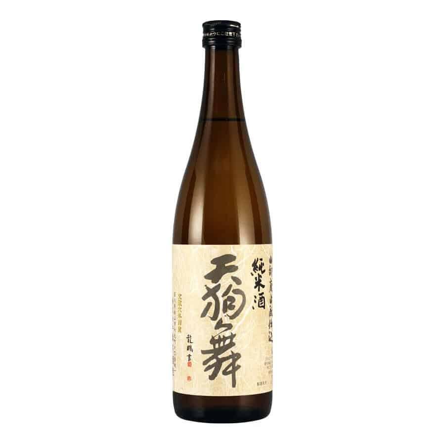 bottle of craft sake